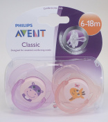 Philips Avent Classic Soother Twin Pack 6-18m
