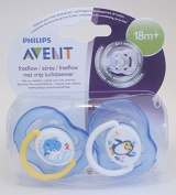 Philips Avent Freeflow Soother Twin Pack 18m+