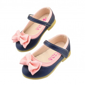 YJYdada Baby Toddlers Kids Girls Bowknot Party Princess Mary Jane Shoes (24