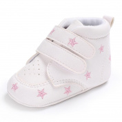 Honhui 2017 Baby Girl Boys heart-shaped Embroidery Hight Cut Sneaker Kids Anti-slip Shoes (13