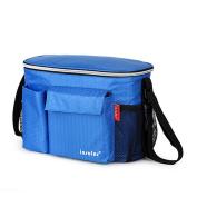 CATOP Pram Strollers Organiser Fits all Toddler or Infant Stroller / Pram / Pushchair With Insulated Bottle Bag Nappy Storage Bag Cup Holder