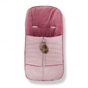 Cosy Coop Baby Quilted Stroller Bunting, Mauve