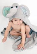 Zoocchini Elle the Elephanant Hooded Bath Towel