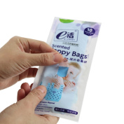 CC Shop Convenient Useful Baby Nappy Scented Bags Disposable Nappy Sacks Disposal Bags