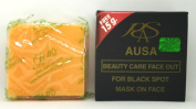 AUSA Herbal Soap 100% For Black Spot Mask on Face 65 g. x 1 pcs.