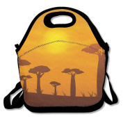 African Baobab Lunch Bag Adjustable Strap