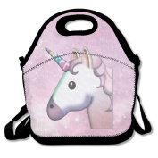 QIFAN Unicorn Travel Picnic Lunch Bag Lunchboxes Outdoor Lunch Box Bag Lunch Tote Handbag Convenience For Out