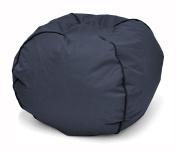 Heritage Kids JK656186 Kids Round Bean Bag Chair, Navy