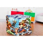 Marvel Avengers Cube Bean Pouffe