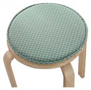 Creative Round Stool Cushion Warm Sponge Pad Bar Stool Mat Green