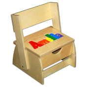 Step 'n Store Name Puzzle Stool