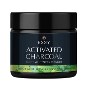 Teeth Whitening Coconut Activated Charcoal Powder- Food Grade –Fresh Mint Flavour