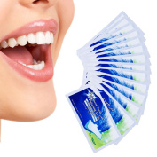 (FDA Approved)Teeth Whitening Strips Professional Shine Teeth Advanced Double Elastic Gel Cleaning for Teeth Care28 Counts (14 Upper and 14 Lower Strips) with Non-Slip Tech