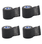 Black Sensi-Wrap for Tattoo Aftercare - Lightweight Self-Adherent Bandage (5.1cm x 1.5m)