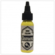 Element Raw Yellow Tattoo Ink -30ml by Element Tattoo Supply