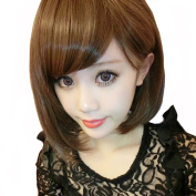 Wig Short Hair Wigs Nature as Real Hair Cosplay Wigs