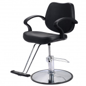Costway Classic Hydraulic Barber Chair Salon Beauty Spa Styling Hairdressing Threading