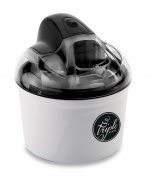 Triple Scoop TS-562-Black 1.4l Ice Cream Maker, Black