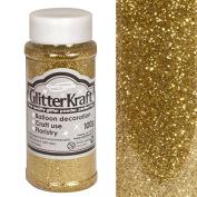 Oaktree Metallic Gold Glitter Kraft Crafting Powder/Fine Glitter Shaker 100g