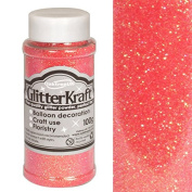 Oaktree Sugar Pink Glitter Kraft Crafting Powder/Fine Glitter Shaker 100g