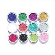 2 x Glitter Kraft Crafting Powder/Fine Glitter Shaker 100g-You Choose the colour