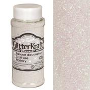 Oaktree Iridescent Glitter Kraft Crafting Powder/Fine Glitter Shaker 100g