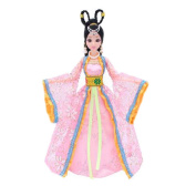 Light powder Fairy Doll Ball-Jointed Doll Dress Doll Gorgeous China Doll
