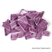 Milltown Merchants™ Light Purple Glitter Mosaic Tile Pieces - Bulk Lilac Sparkle Mosaic Tiles - 1.4kg (1420ml) Shimmer Tile Assortment For Backsplash, Murals, Stepping Stones, and Mosaics