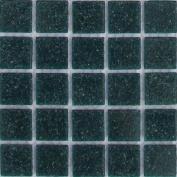 B 75 Aquamarine - 1.9cm Glass Tile - 0.2kg bag - Hakatai Glass Tile
