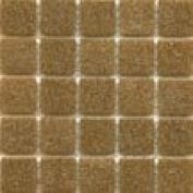 A 13 Oak - 1.9cm Brown Glass Tile - 0.2kg bag - Hakatai Glass Tile