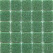 A 05 Jade - Green 1.9cm Glass Tile - 0.2kg bag - Hakatai Glass Tile