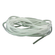 Homeford Solid Deco Flex Mesh Tube for Wreaths, 8mm, 15 Yards, Iridescent White