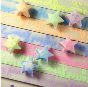 Origami Stars Papers Package DIY Paper, 300 Sheets - 10 Colours