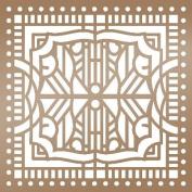 Ultimate Crafts The Ritz Stencil 15cm x 15cm -Architecture