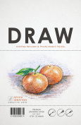 Premium Drawing Paper for Pencil, Ink, Marker and Charcoal. Great for Art, Design and Education. Loose Sheet Packs. (25 Sheet Pack