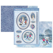 Hunkydory Crafts White Christmas- Let it Snow! Topper Set