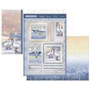 Hunkydory Crafts White Christmas- Festive Feathers Topper Set