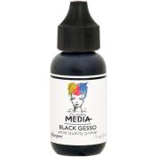 Dina Wakley Media Gesso 30ml Tube-Black