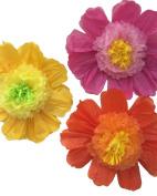 Fonder Mols 60cm Paper Pom Poms Tissue Paper Flowers Girls Party Wedding Backdrop Flower Wall Pack of 3