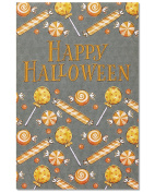 American Greetings Candy Halloween Card, 6-Count, Assorted