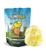 Bag of Trump Hair by Bad Thread | Cotton Candy (Organic Sugar, Natural Flavouring, Gluten Free) | Funny Donald Trump Gag Gift for Friends, Moms, Dads, Grads, Birthday Boys or Girls | 90mls