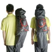 Cooplay Black 100cm Professional Big Longboard Skateboard Carry Bag Handy Backpack Handbag Long Board With Mesh