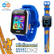 VTech Kidizoom Smartwatch DX2 - - Skateboard Swoosh with Bonus Royal Blue Wristband [Special Edition]