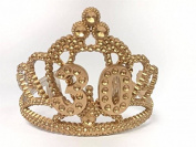 30th Birthday Princess Tiara Gold Crown Party Princess Plastic Tiara