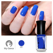 Promisen 6ml Nail Art Water-based Tasteless Peelable Polish Breathable Nail Lacquer Care