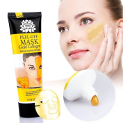 NEW Gold Collagen Mask MEIQING Blackhead Peel Off Tearing Mask for Face Mask Whitening Anti-Wrinkle Face Masks - Facial Mask