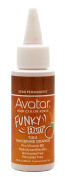 Avatar Funky Fruit Semi-permanent Hair Colour Rinse 80ml Tangerine Orange 6 pieces