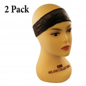 2-PACK Milano Collection ORIGINAL WiGrip Wig Comfort Band in Brown