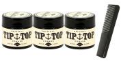 Tip Top Original Water Based Pomade 130ml Pack of 3