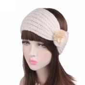 Honhui Women's Hairband ,Fashion Handmade Keep Warm Knitting Headband